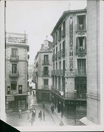 Vintage photo of The Iwn of the comb