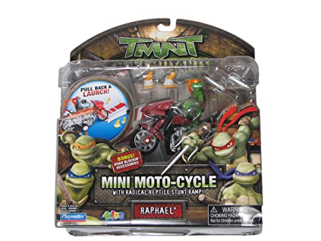 Amazon.com: COLLECTIBLE! TMNT Michelangelo Mini Moto-Cycle ...