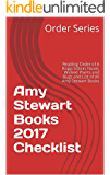 Amy Stewart Books 2017 Checklist: Reading Order of A Kopp Sisters Novel, Wicked Plants and Bugs and List of All Amy Stewart Books