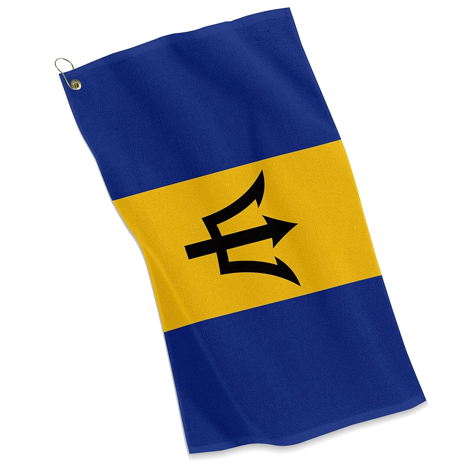 Golf/Toalla – bandera de Barbados – Barbados deportes Bajan: Amazon.es: Deportes y aire libre