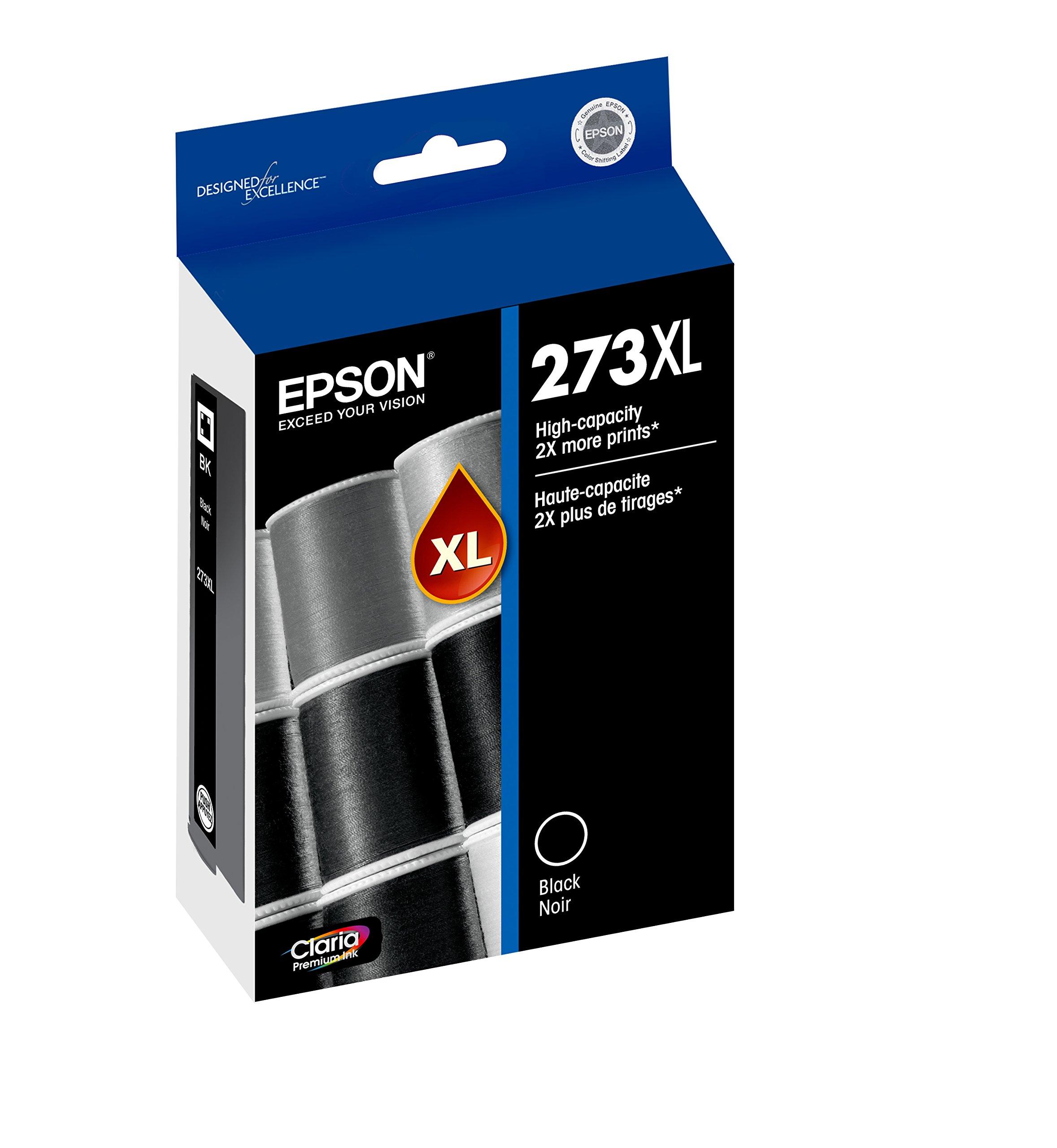 Epson T273XL020 Claria Premium High Capacity Cartridge Ink Black by Epson (Image #1)