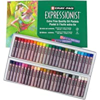 Sakura XLP50 50-Piece Cray-Pas Expressionist Assorted Color Oil Pastel Set