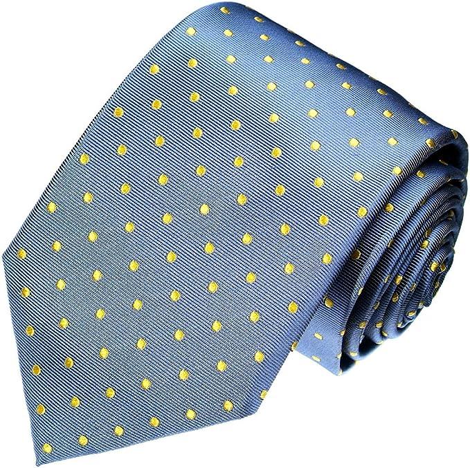 Lorenzo Cana – Marcas – Corbata de seda 100% seda – Corbata Azul ...