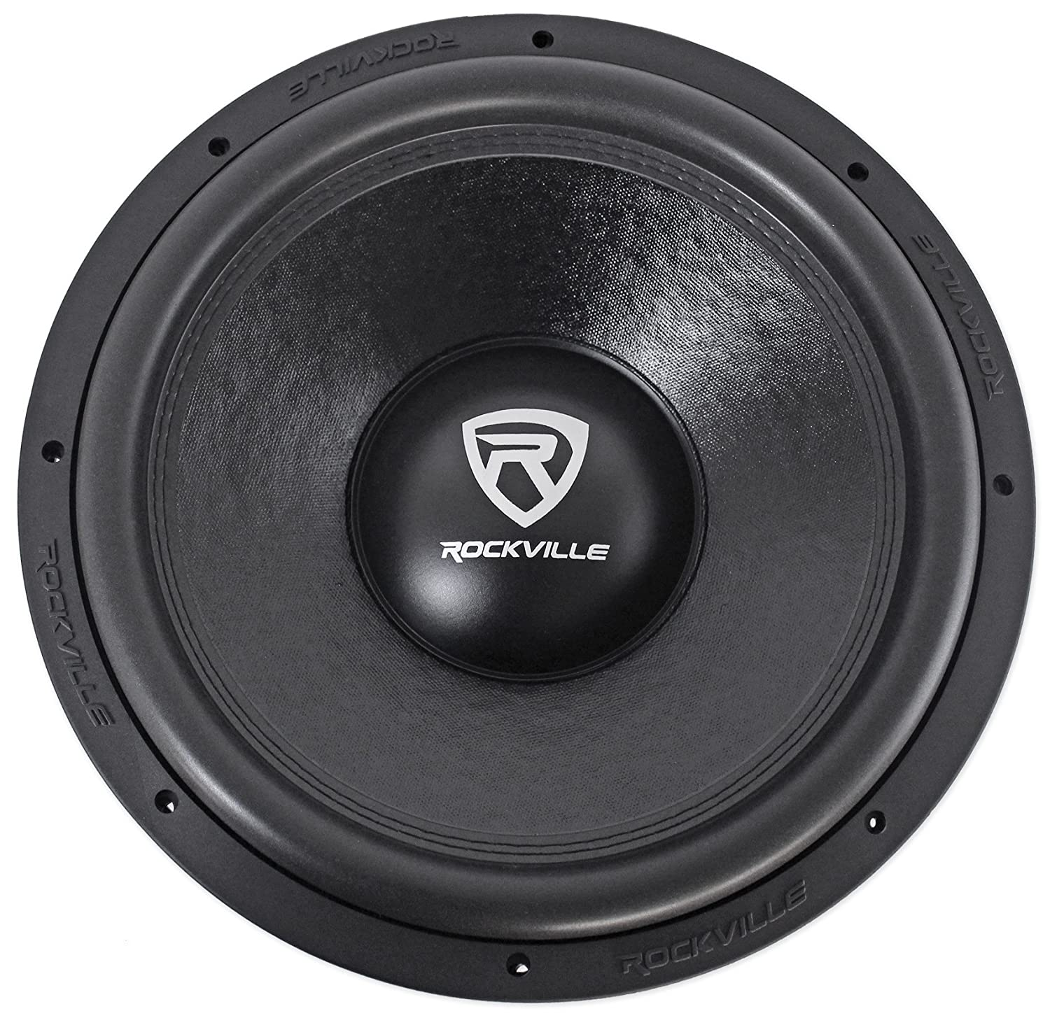 "Rockville W15 K6 D2 V2 15"" 4000w Car Audio Subwoofer Dual 2 Ohm Sub Cea Compliant by Rockville"