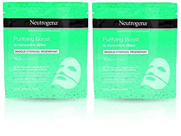 Neutrogena Purifying Boost Máscara Hidrogel Regeneradora - 2 ...