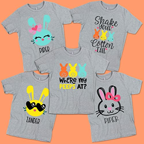 Amazon.com: Easter Bunny - Personalized Shirts -Where My ...