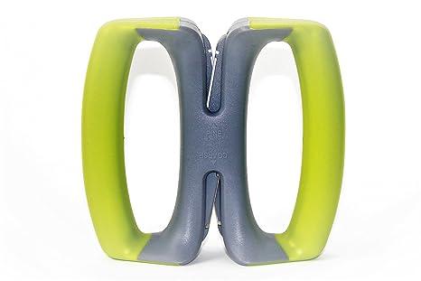 simprium – Lime Verde Flex 2 etapa Manual Afilador de cuchillos de cocina con automático ajustable varillas de cerámica de tungsteno Afilado a Sharp ...