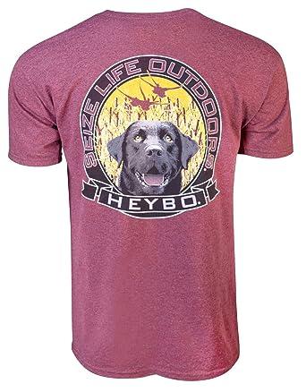 dc9627150 Amazon.com: Heybo Lab Circle SS T-Shirt: Clothing
