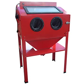 Amazon.com: Black Bull SBCNNS Red Vertical Blast Cabinet: Automotive
