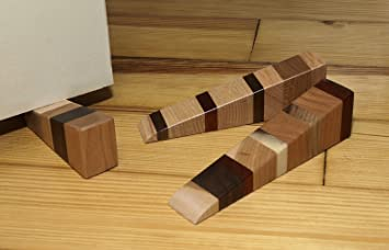 Amazon.com : Wooden Door Wedge : Door Stops : Office Products
