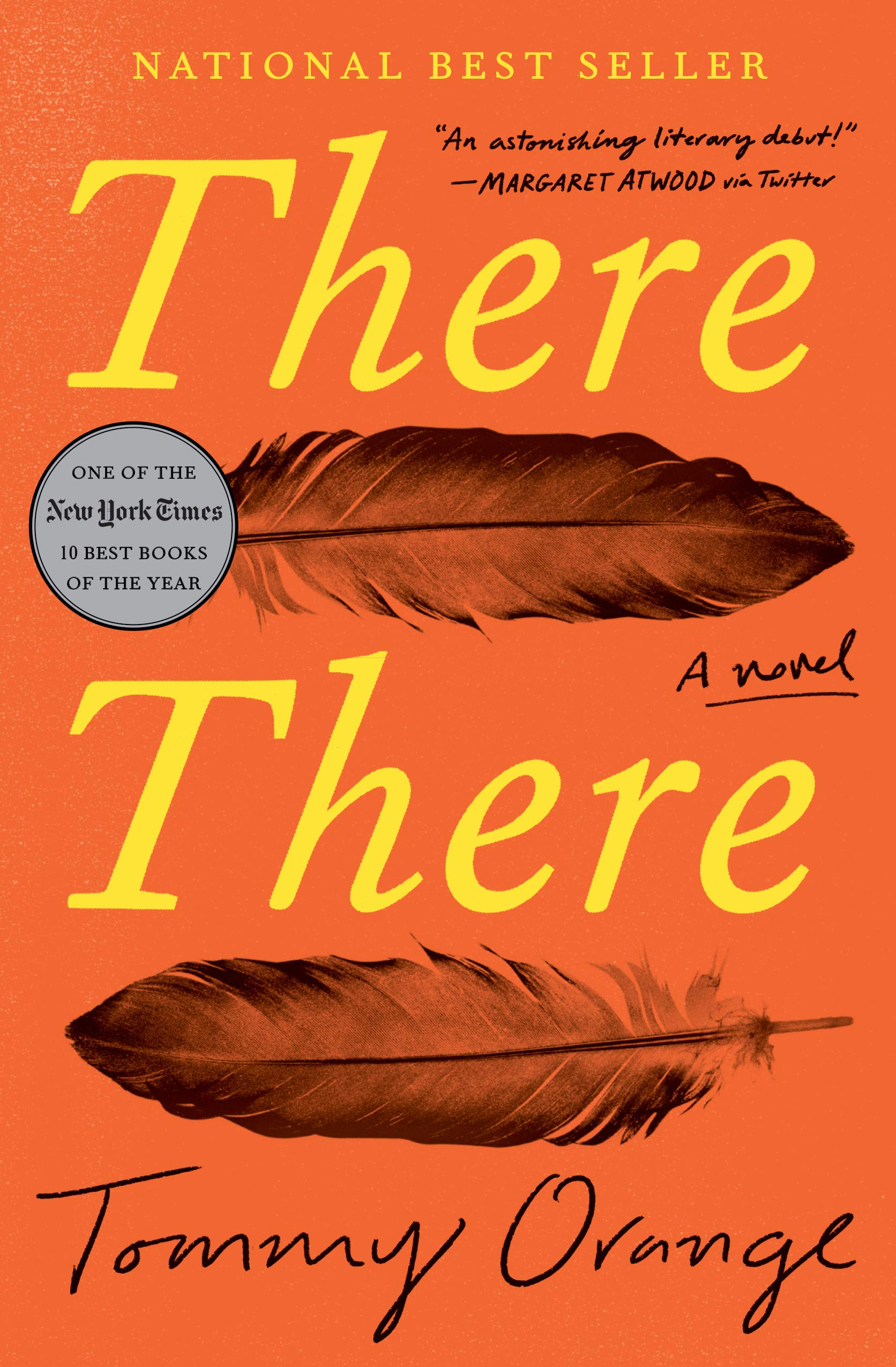 Cover art for the book entitled There There