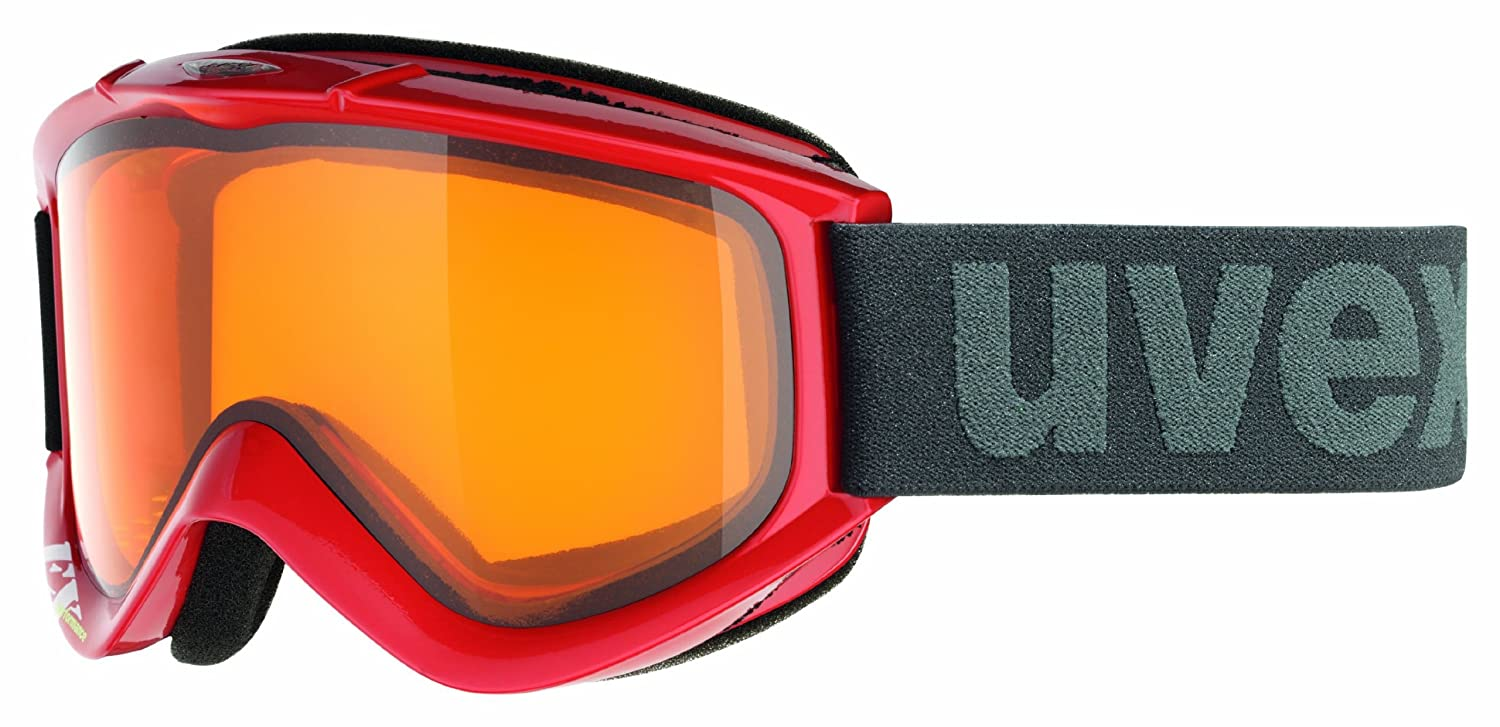 Skibille UVEX FX darkred