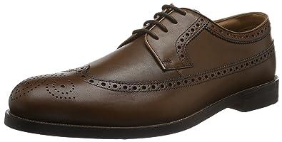 Coling Limit, Derby Homme, Marron (Tan Leather), 45 EUClarks