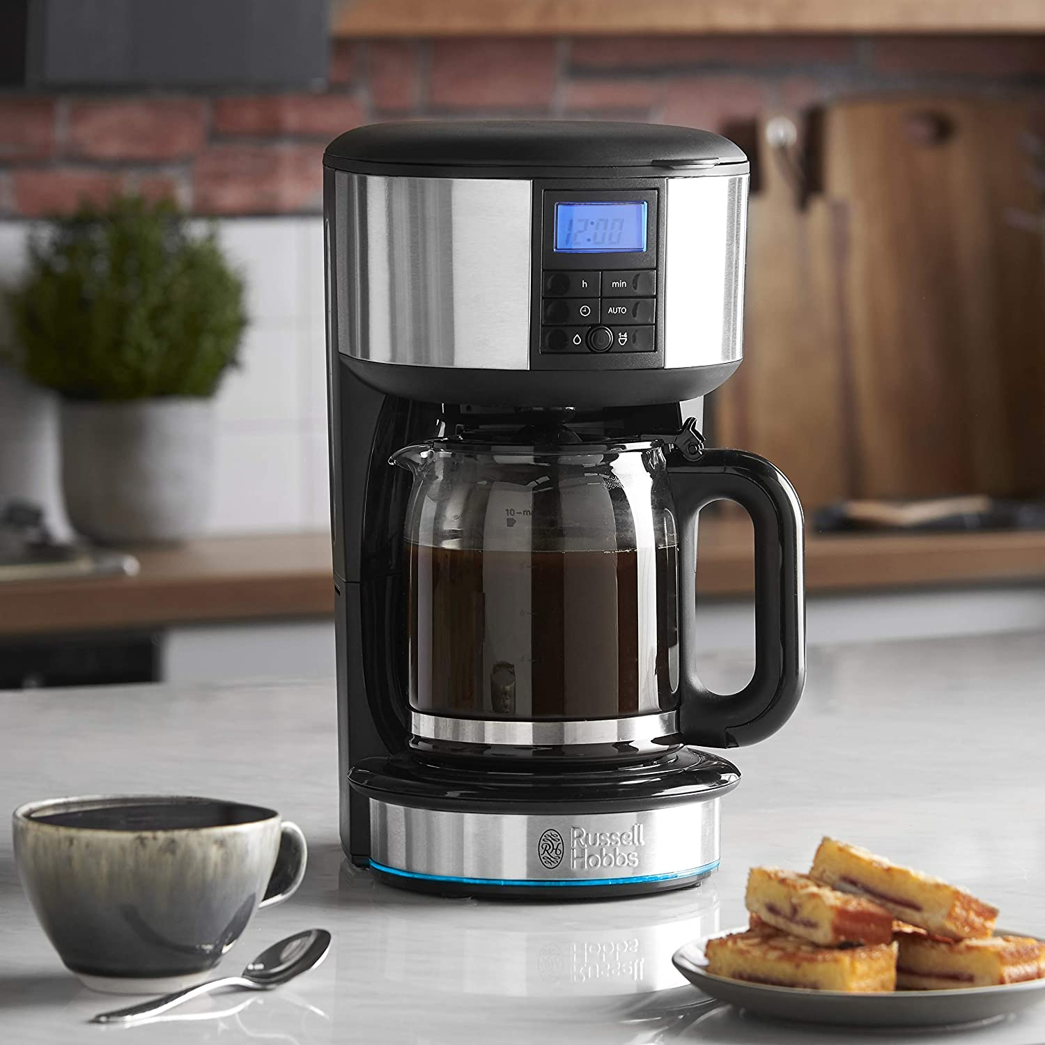 Amazon.com: Russell Hobbs Buckingham Filtro Cafetera ...