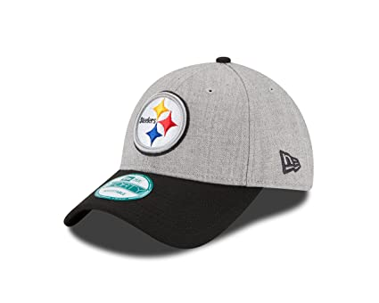 351d03d05d648 Amazon.com   NFL Pittsburgh Steelers The League Heather 9forty ...