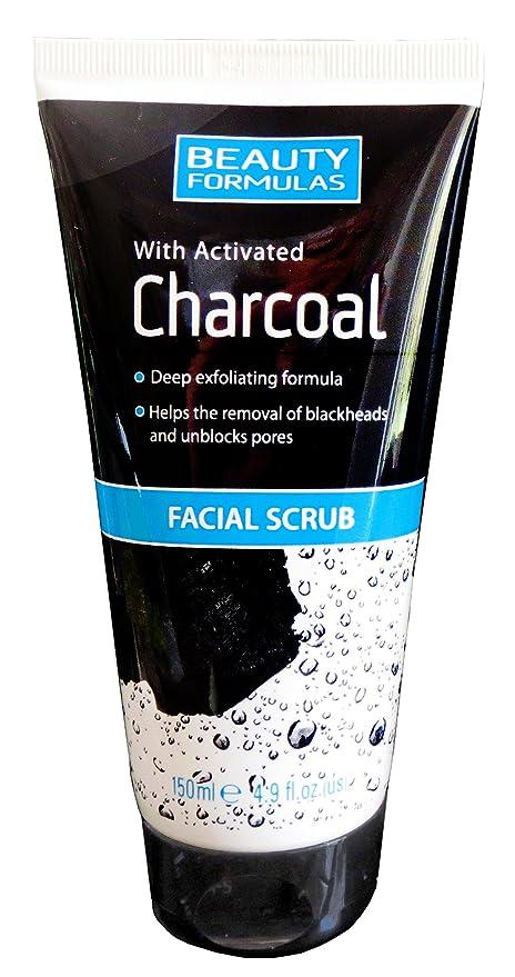 Carbón para hombre para limpieza facial y corporal – carbón antibacteriano para acné, puntos negros