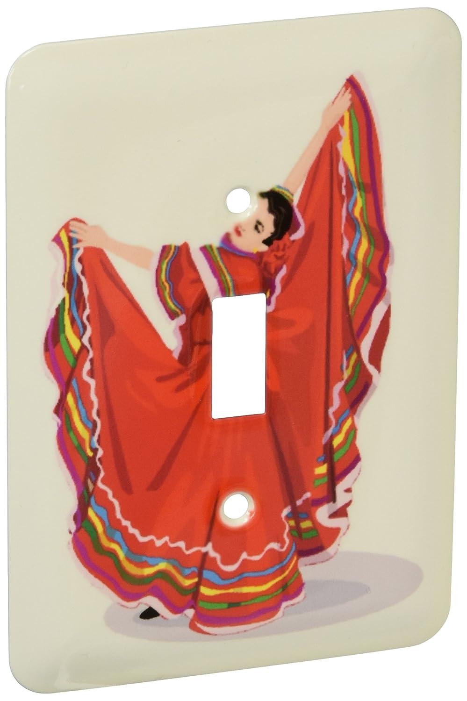 【驚きの値段】 3dRose B00DO7Q38E 3dRose LLC lsp_128639_1 lsp_128639_1 伝統的なドレスのメキシカンダンサー シングルトグルスイッチ B00DO7Q38E, HARU online store:93ef95c4 --- svecha37.ru