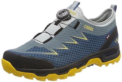 d605081b90c Viking Herren Dis II Boa GTX M Trekking-& Wanderhalbschuhe, Blau (Denim/