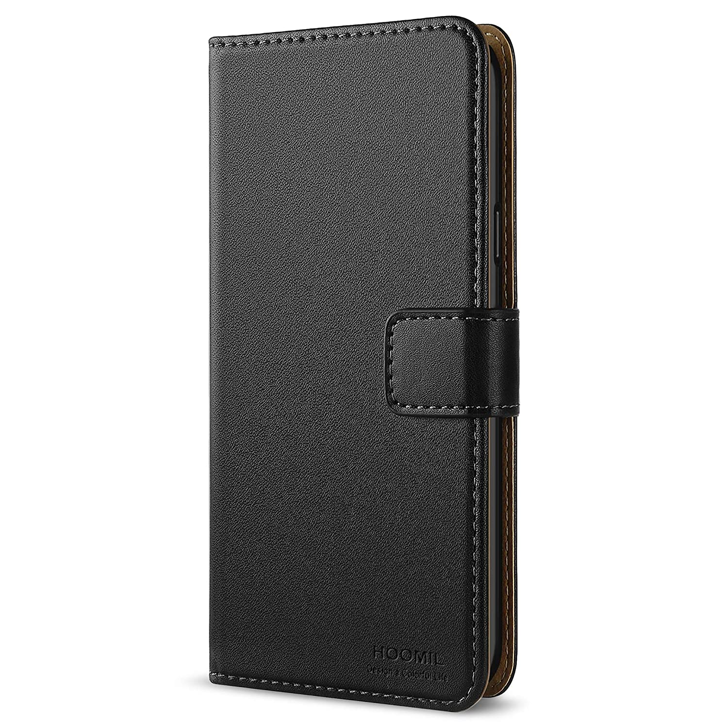 huge discount 1f1fb 974c2 HOOMIL Samsung A5 2016 Case, Premium Leather Case for Samsung Galaxy A5  (2016) Phone Cover - Black