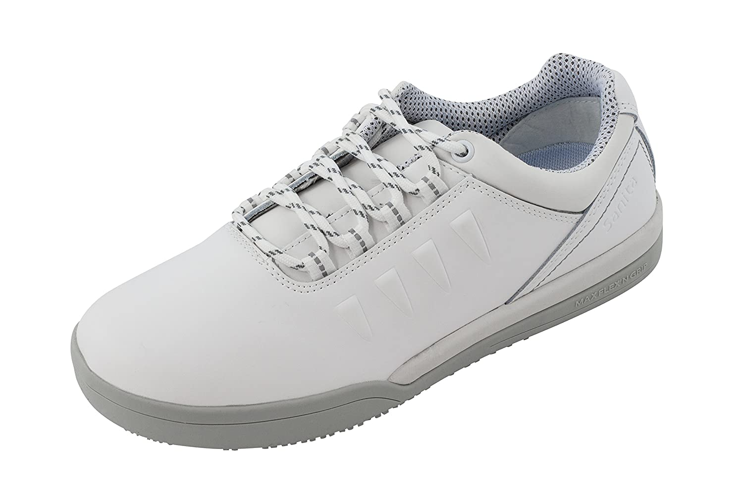 Sanita San-Chef Lace Shoe-O2, Scarpe Antinfortunistiche Unisex – Adulto  Bianco (Bianco)