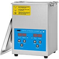VIVOHOME Professional 2L Touch Controllable Ultrasonic Cleaner Machine with Digital Timer and Heater for Parts Jewelry…