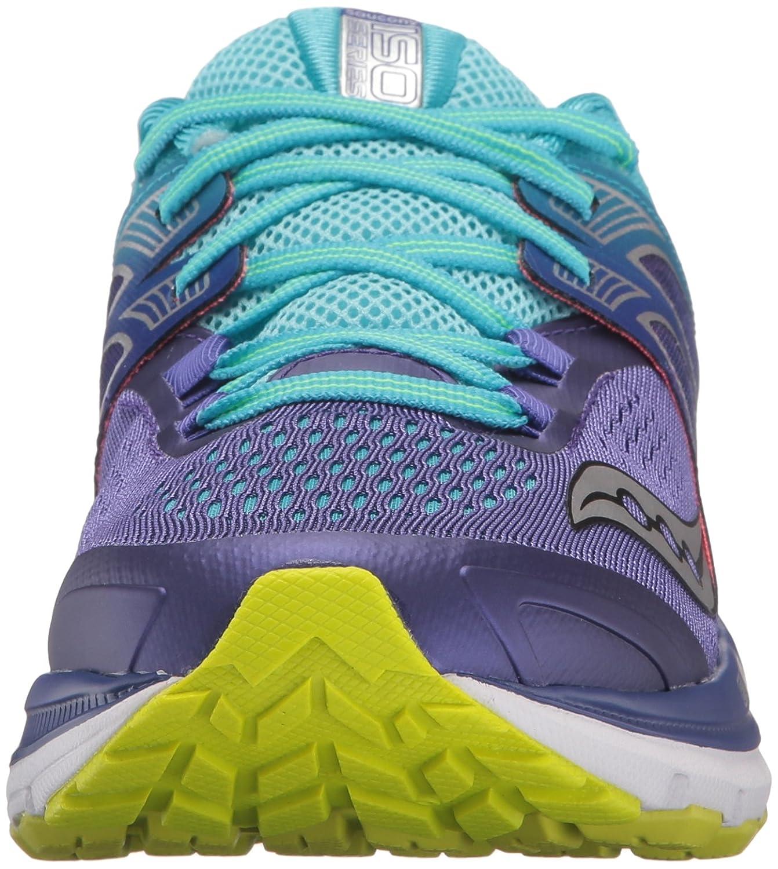 Saucony Women's Triumph Iso W 3 Running Sneaker B01GILJGRW 7.5 W Iso US|Purple/Blue/Citron 70ca0f