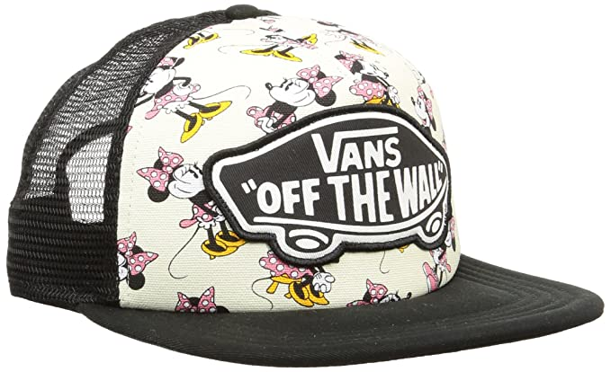 Image Unavailable. Image not available for. Color  Vans Disney Black Minnie  Mouse Trucker Cap 79d05d03668