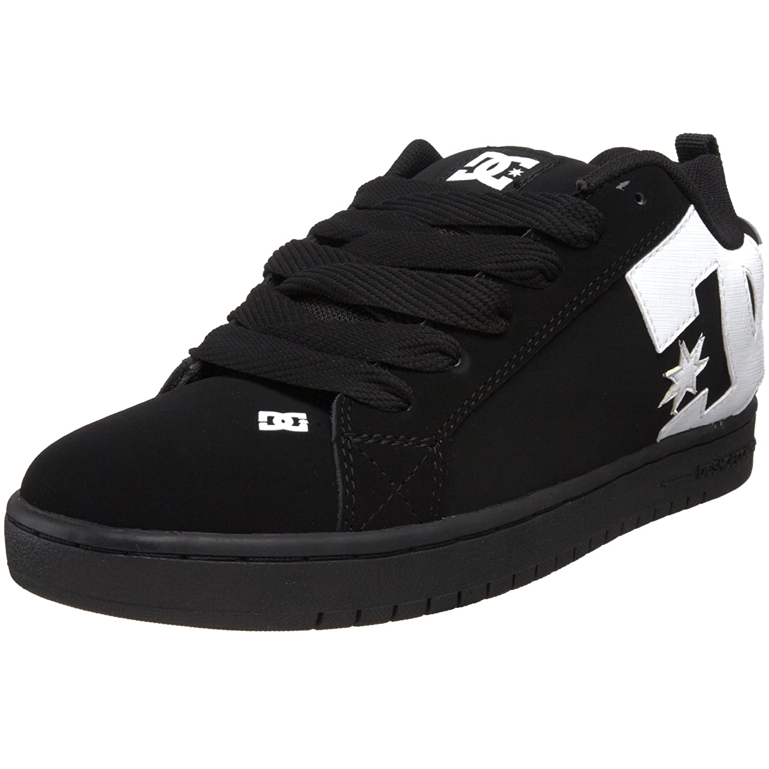 Black DC shoes Court Graffik Mens 300529-HWG