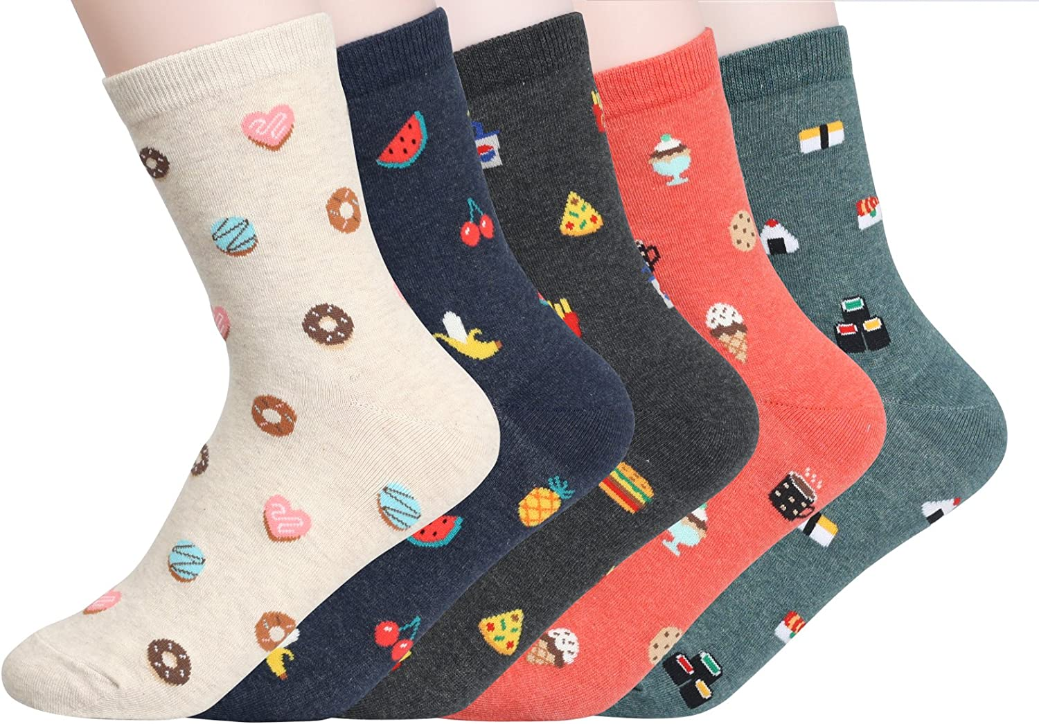 Customonaco Women's Cool Animal Fun Crazy Socks