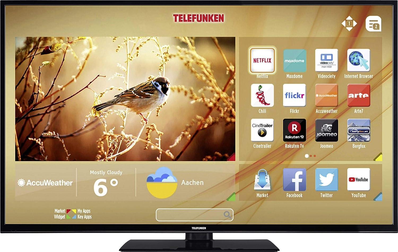 Telefunken C55u446a Led Tv 140cm 55 Zoll Eek A Elektronik