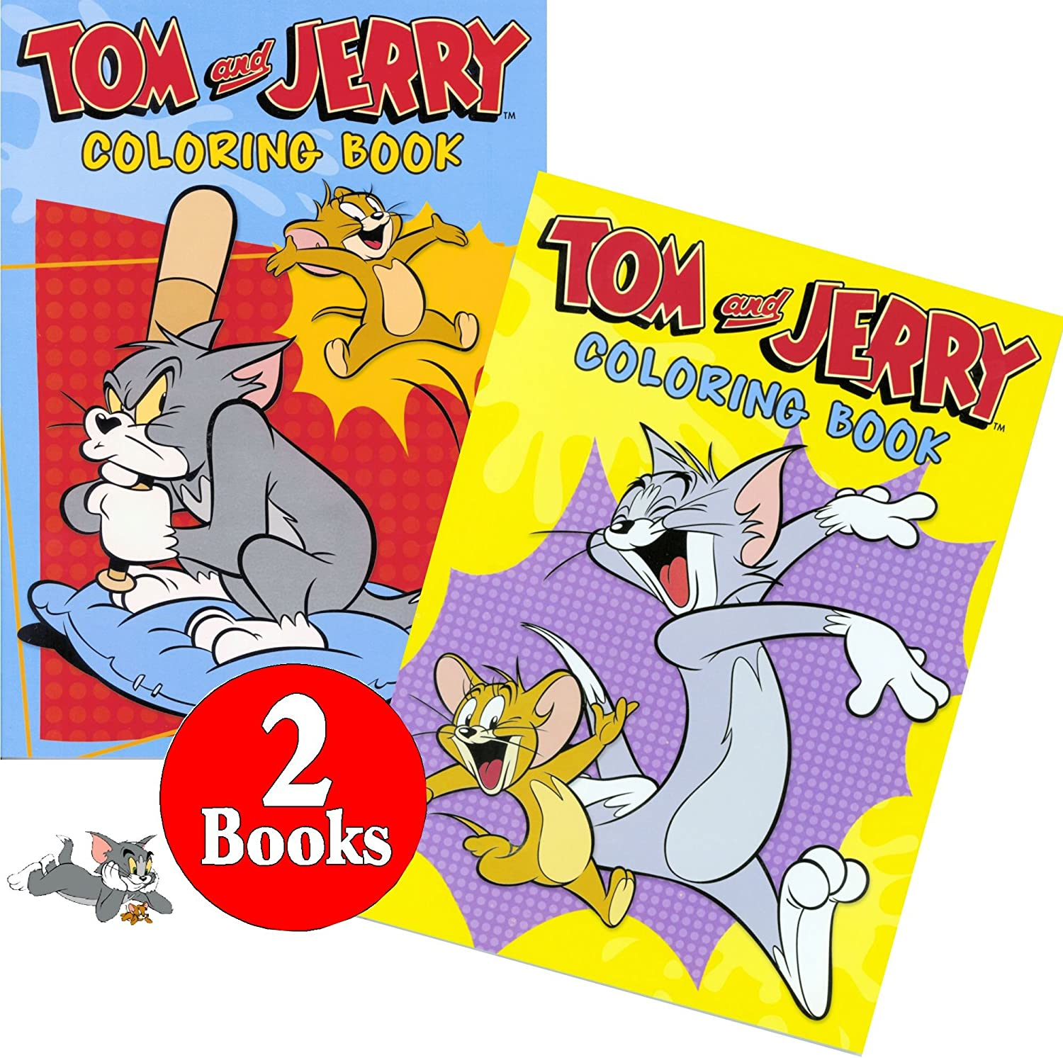 - Amazon.com: Hanna-Barbera Tom And Jerry Coloring And Activity Book