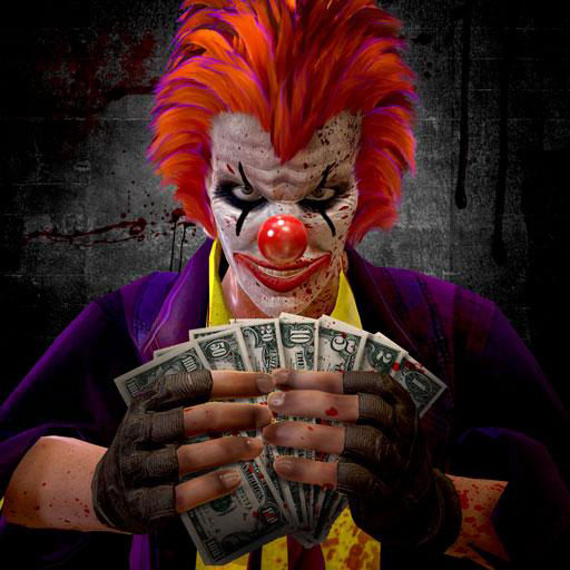 Christmas Clown Robbery Master Grand Theft Heist Simulator: Crime City Robbers Mafia Gangsters Adventure Game Free -