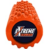 Extreme Muscle Foam Roller ✠ High Density Grid Provides Deep Massage For Tight Muscles - For Pilates, Exercising, Yoga, Running, Physical Therapy & Sports