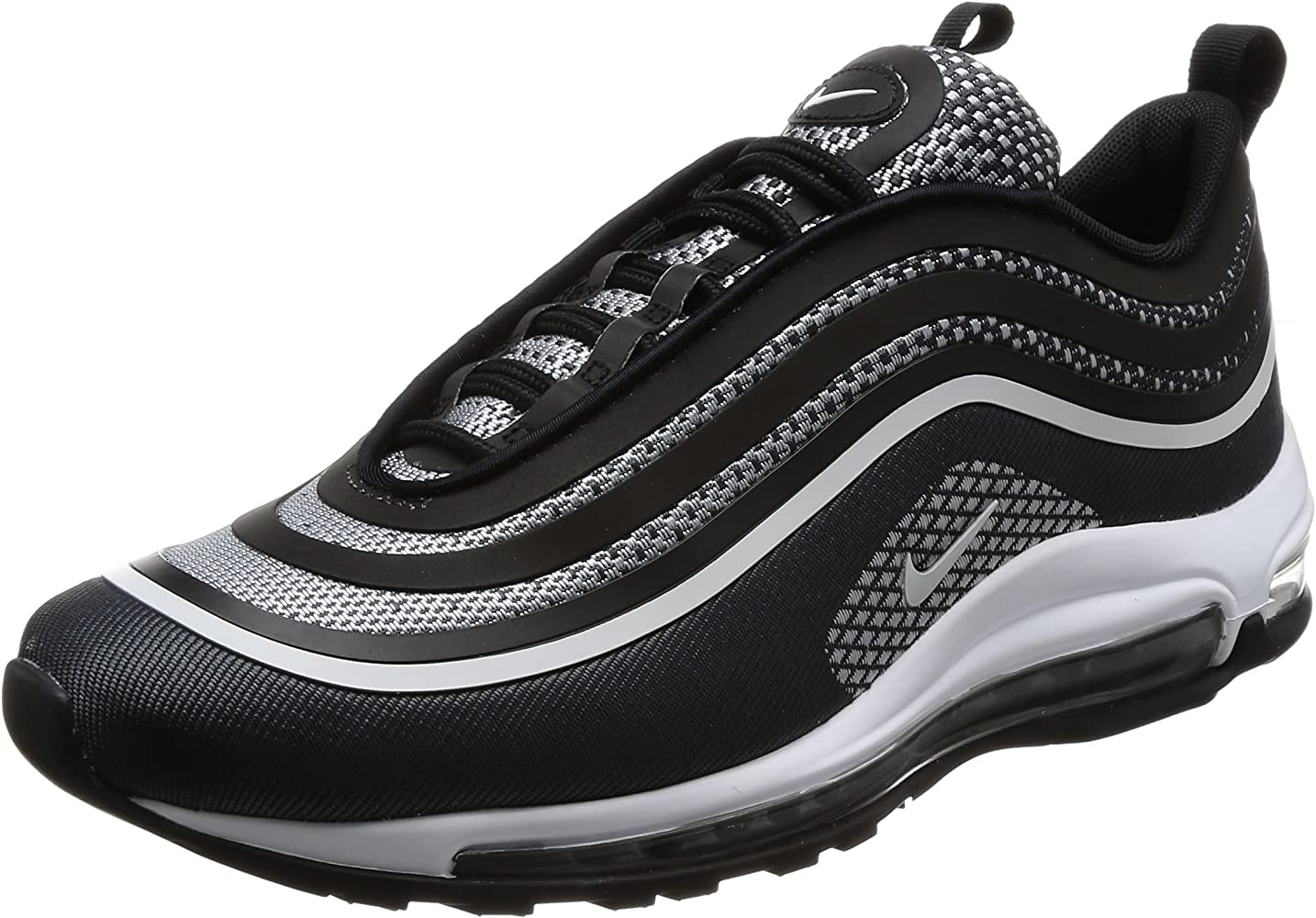 outlet store df0ac 842bf Men's Air Max 97 Ultra '17 Black and Silver Sneaker 43(IT)-10(US) Black