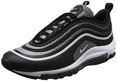 Nike Air Max 97 Ultra 2017 lifestyle casual shoes fashion mens black/pure  platinum-