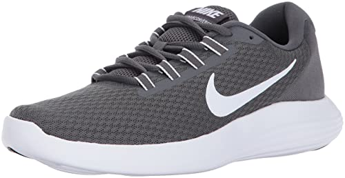 517139f2646 Nike Men s Lunarconverge Black White-Dark Grey Running Shoes-10 UK India