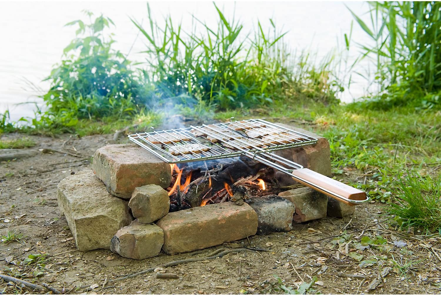Grille barbecue rectangulaire double 48x27.5 cm Campingaz