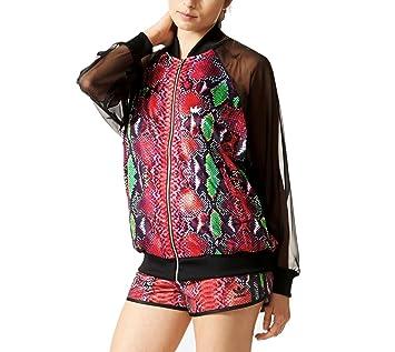 0936d8290c390 Adidas Soccer Originals Women's Tracksuit Jacket, Womens, Trainingsjacke  Soccer Originals, Black/Multicolor