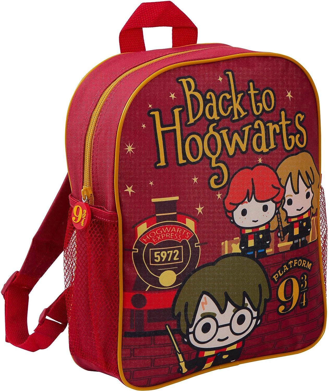 HARRY POTTER Mochila de Dibujos Animados de Hogwarts (Mochila Escolar con Encanto) para niños Talla única Volver a Hogwarts: Amazon.es: Ropa y accesorios