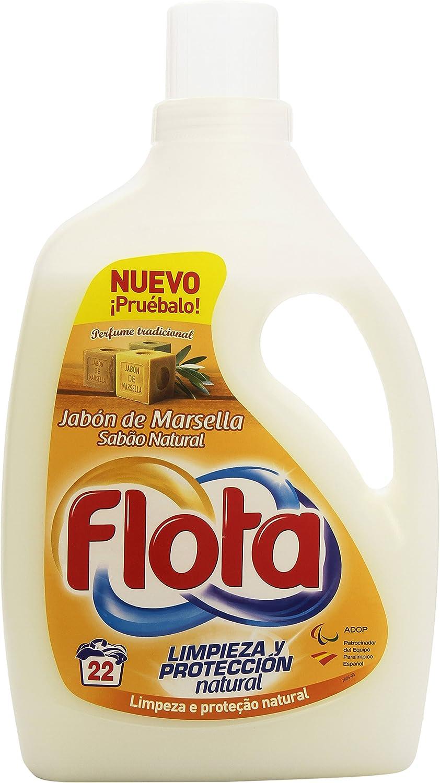 Flota - Jabón de Marsella - Detergente líquido para lavado de ropa ...