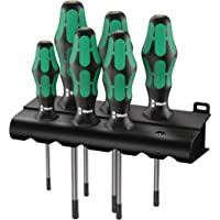 6-Piece Wera Kraftform Plus 367/6 Torx Screwdriver Set