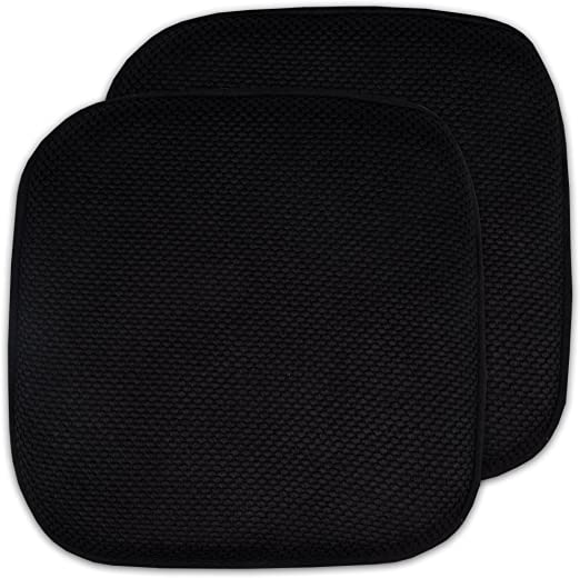 """BOX of 22 Seat Pad 15*15/""""*2/"""" White Dining Room Foam Seat Pad Patio Office Chair"""