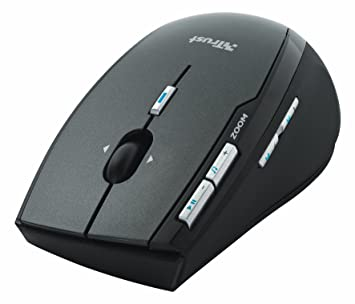 TRUST Wireless Laser MediaPlayer Mouse MI-7700R Descargar Controlador
