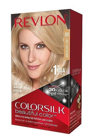 Revlon Colorsilk Beautiful Color Light Ash Blonde 80 1 application ...
