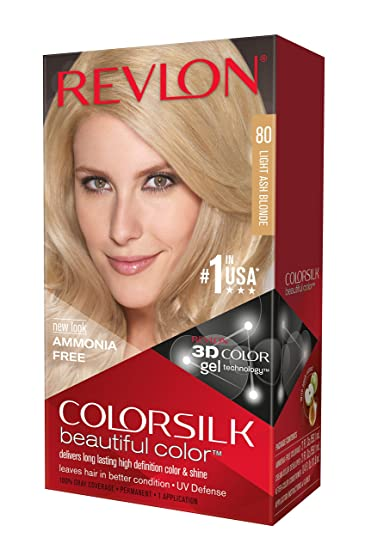 Revlon colorsilk light ash blonde