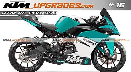 Ktmupgrades Custom Decal Set 16 For Ktm Rc 125200390