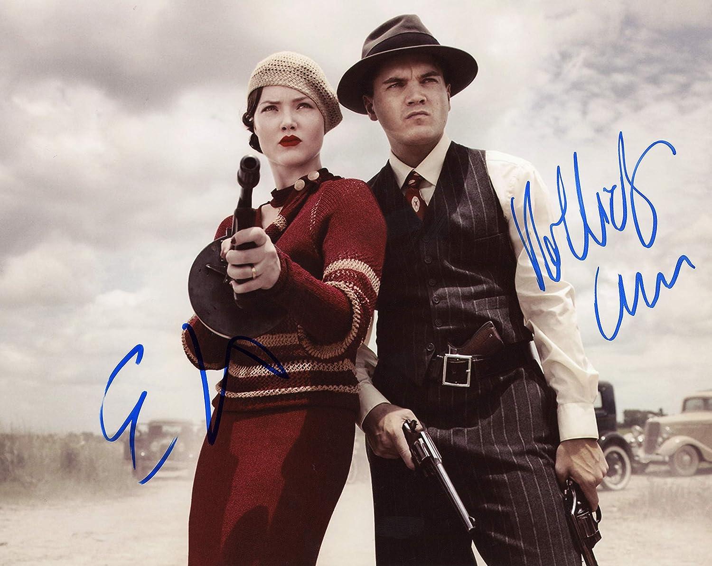 Holliday Grainger Emile Hirschbonnie Clyde Autographs Signed