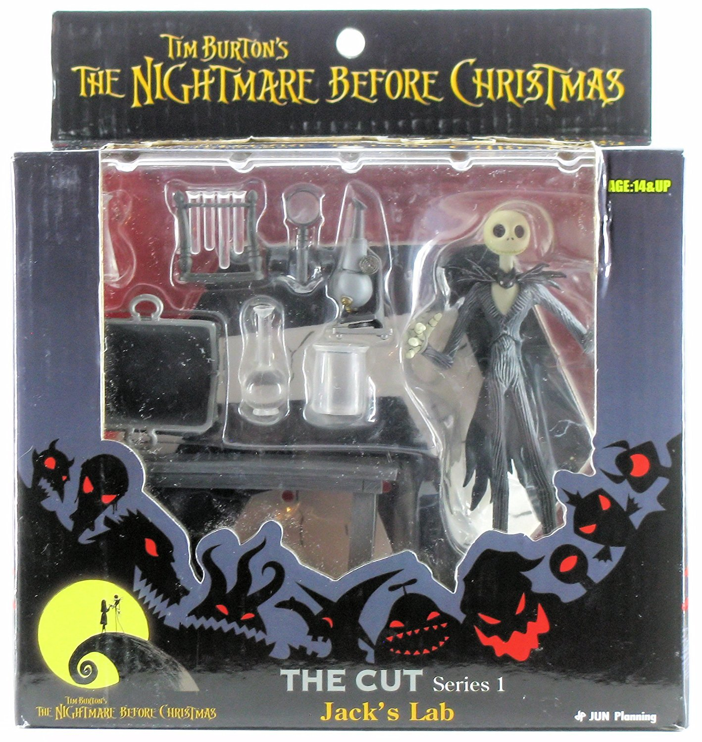 Amazon.com: Nightmare Before Christmas/Jack\'s Lab The Cut S.1: Toys ...