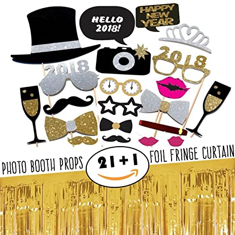 Amazon.com: New Year\'s Eve Party Decoration and Supplies Kit-Funny ...