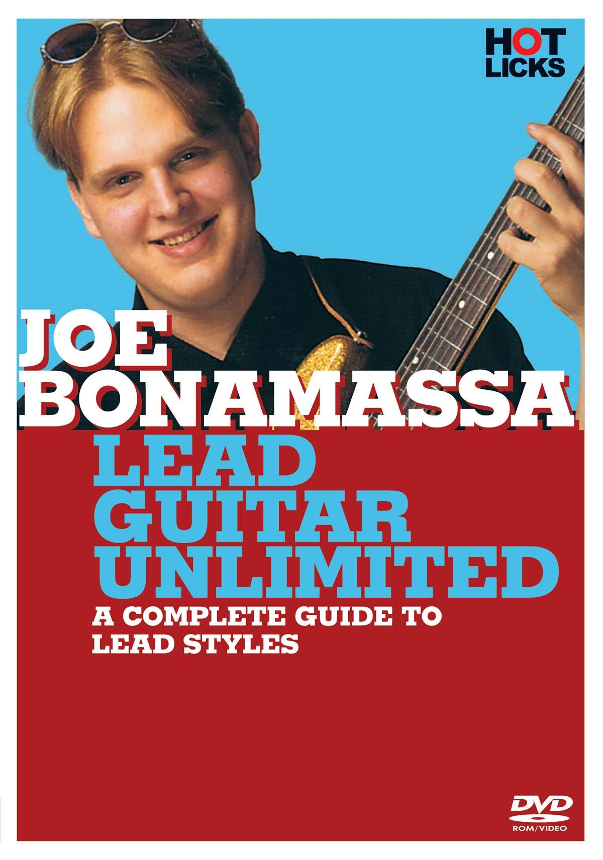 DVD : Joe Bonamassa: Lead Guitar Unlimited (DVD)